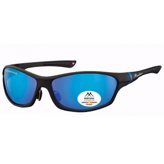 Sportbrille SP307A Schwarz / Blau