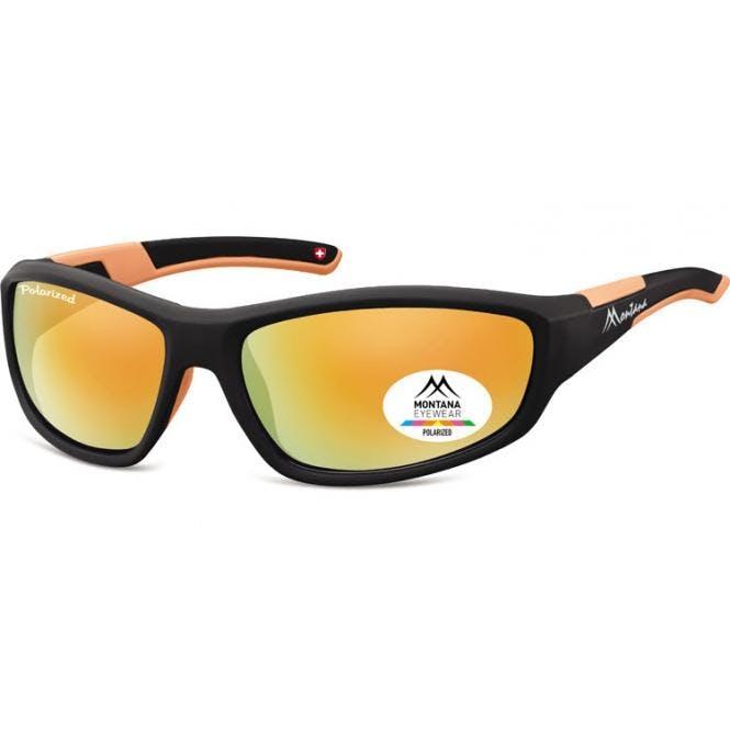 Sportbrille SP311A Schwarz / Orange