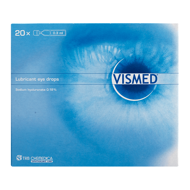 Vismed Augentropfen- 20x0.3ml Ampullen