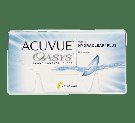 80793f1120e7b Lentilles de Contact - Acuvue Oasys - 6 Lentilles bi-mensuelles ...
