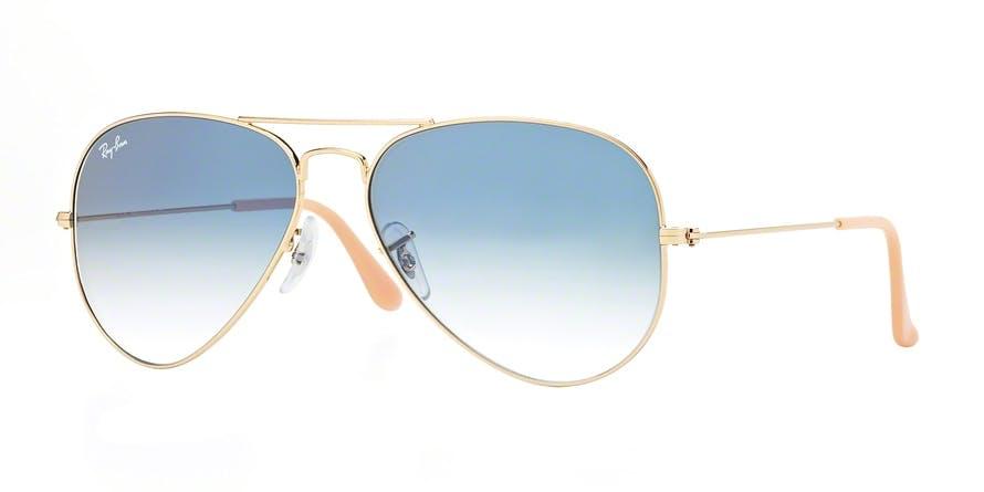 1b594e5873 Sunglasses - Ray-Ban Aviator Large Metal RB3025 - 001-3F 58-14 - buy ...