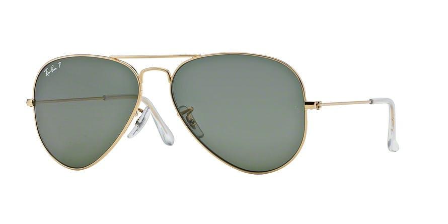 3b4d62b1d35 Sunglasses - Ray-Ban Aviator Large Metal RB3025 - 001-58 Pol. 58-14 ...