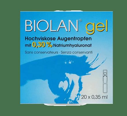 Biolan® Gel Augentropfen - 20 x 0.35ml