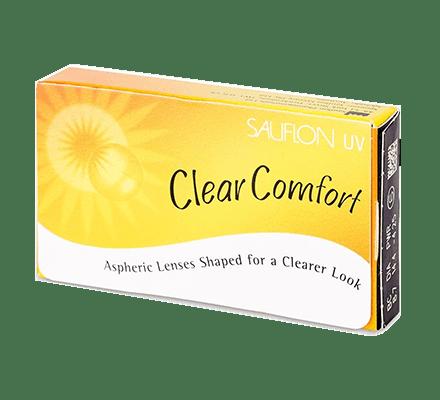 Sauflon Clear Comfort UV <span>6 Monatslinsen</span>