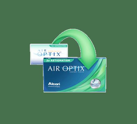 ... Air Optix for Astigmatism - 6 Monthly Lenses ...