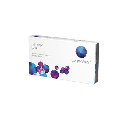 b11de02c911 Contact Lenses - Biofinity Toric - 6 Monthly Lenses - buy online at ...