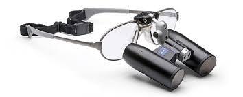 Carl Zeiss KF Titan Lupenbrille Fernrohrlupen-System