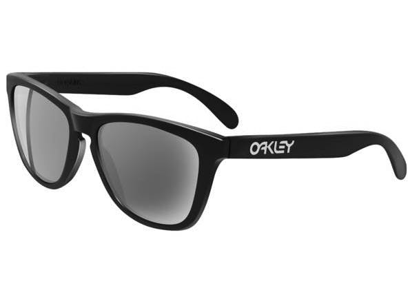 65e95bf198 Start scanning   . Zoom. Oakley Frogskins 24-306 Polished Black Grey  Sunglasses