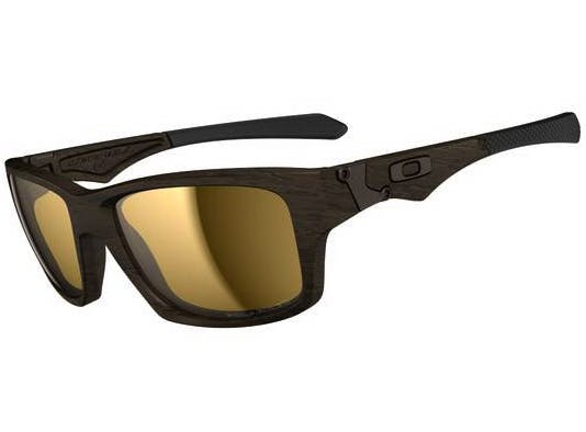 65a9ffe0f4 Start scanning >>. Zoom. Oakley Jupiter Squared OO9135-07 Woodgrain/Tungsten  Iridium Polarized Sunglasses
