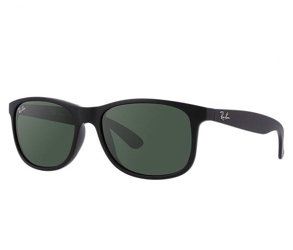Ray-Ban RB4202 - 606971 Black/Green 55/17