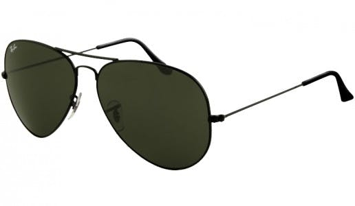 3fb1635ed8a Sunglasses - Ray-Ban AVIATOR LARGE METAL II 62-14 RB3026 L2821 Black ...