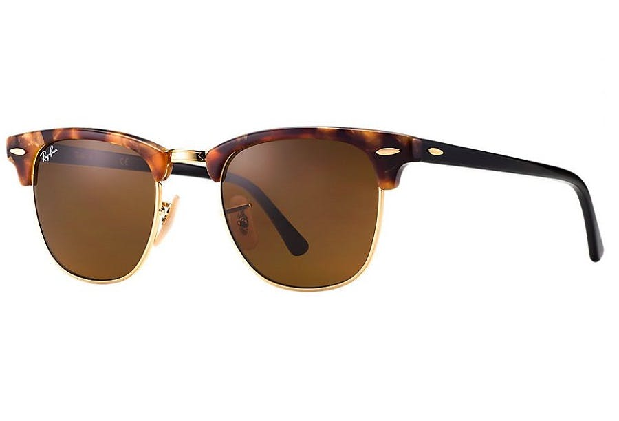 b288fa464e Sunglasses - Ray-Ban Clubmaster RB3016 - 1160 51-21 mottled with ...