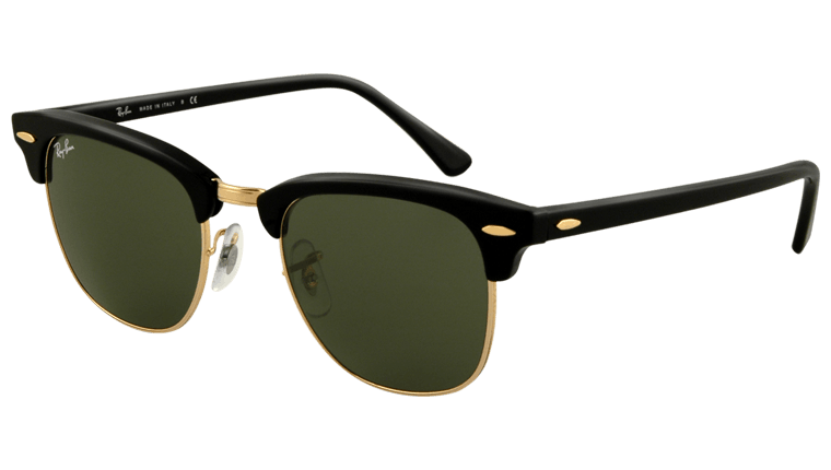 04e485cf42 Sunglasses - Ray-Ban Clubmaster RB3016 - W0365 Ebony 49-21 - buy ...