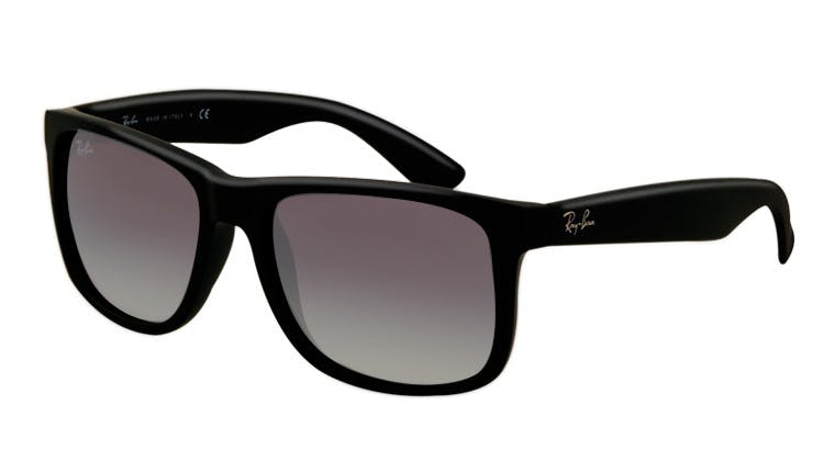 3d8d415aba Sunglasses - Ray-Ban Justin RB4165 - 601-8G Black 54-16 - buy online ...