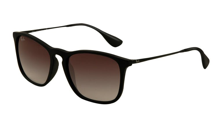Ray-Ban Chris RB4187 - 622-8G Rubber Black 54-18