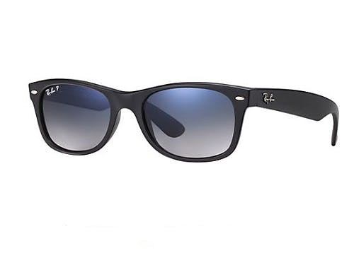 Ray-Ban New Wayfarer RB2132 - 601S78 Polarized 55-18