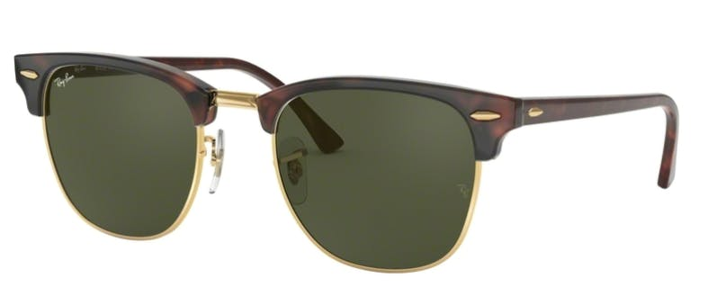 cee1eea39409 Sunglasses - Ray-Ban Clubmaster RB3016 - W0366 Mock Green 51-21 ...