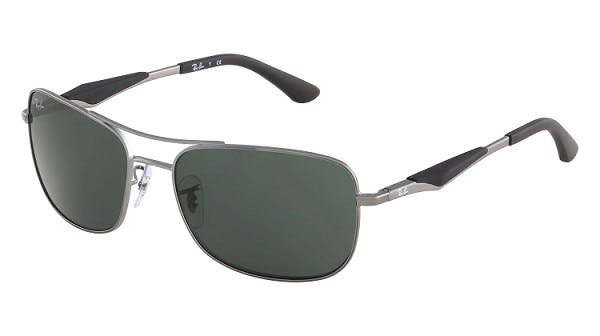 b918ed37c6 Sunglasses - Ray-Ban RB3515 - 004 71 Grey Green 61 17 - buy online ...