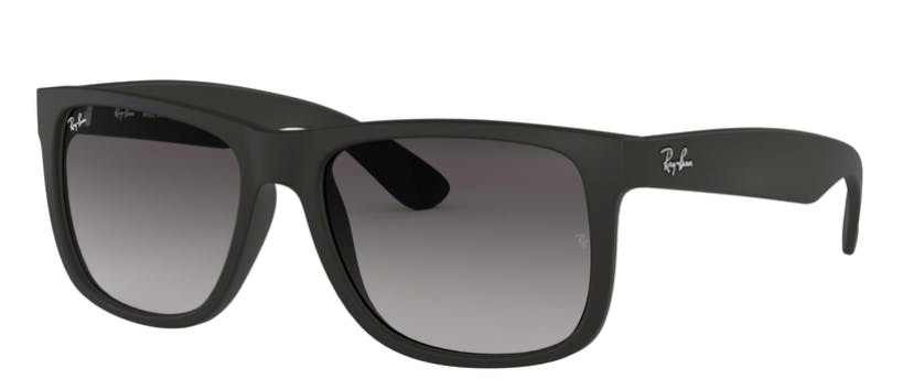 Ray-Ban Justin RB4165 - 601-8G Black 54-16