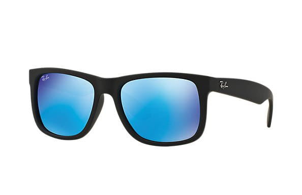 Ray-Ban Justin RB4165 - 622/55 Blue Mirror Multilayer 51/16
