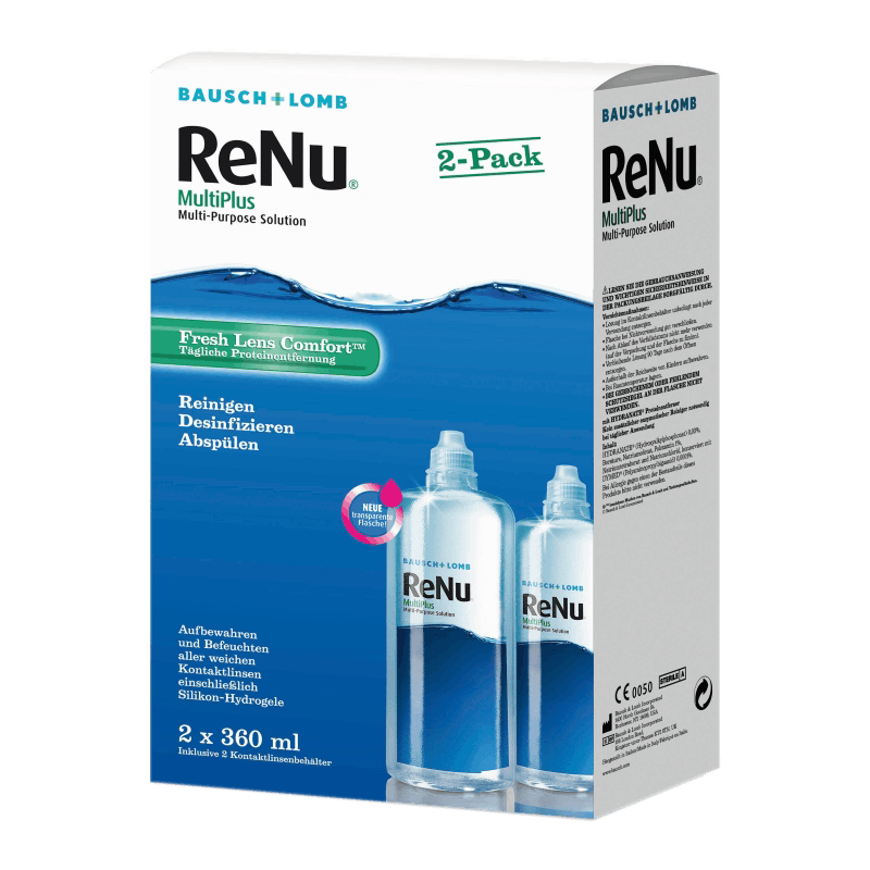 ReNu MultiPlus Twin Box - 2 x 360ml