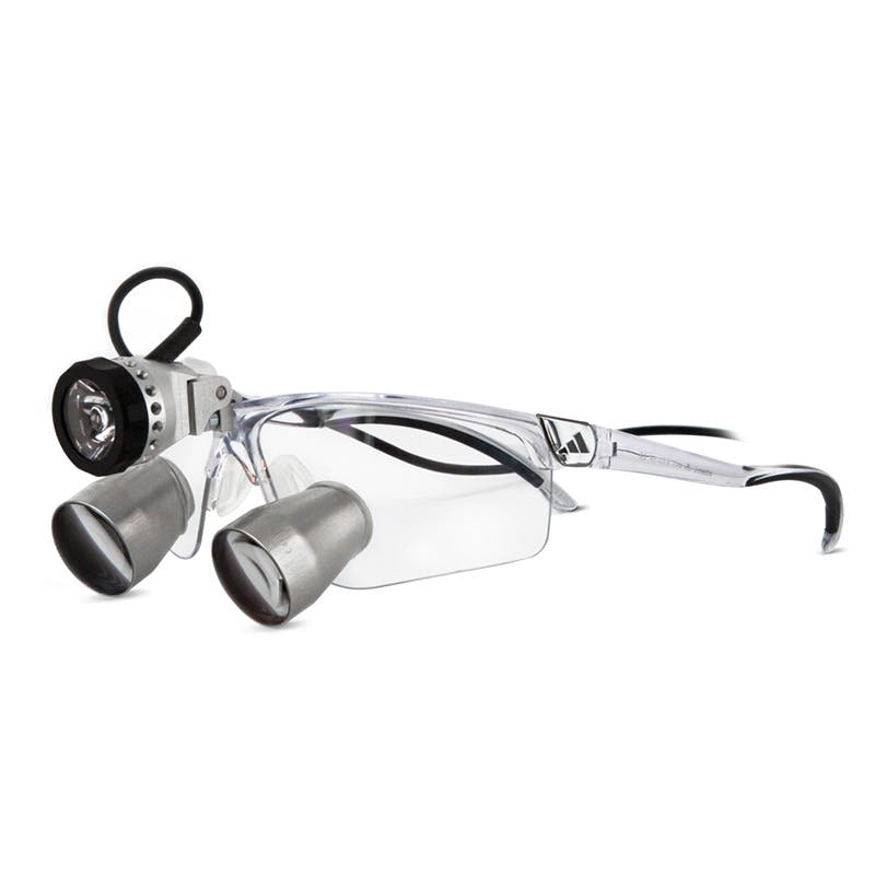 58584c77768 Glasses - Carl Zeiss G 2.5x TTL Loupes - incl. adidas Sport Frame ...