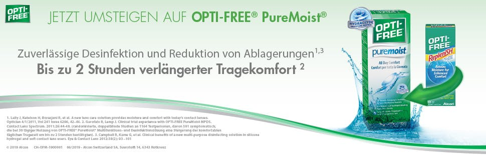 OptiFree Puremoist ALCON 2 x 300ml